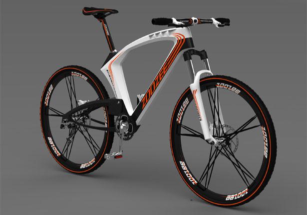 Zoozee Mountain Bike Que Armazena Energia Para Carregar