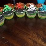 Pelotão de cupcakes. Via katrinacooks.blogspot.com.br