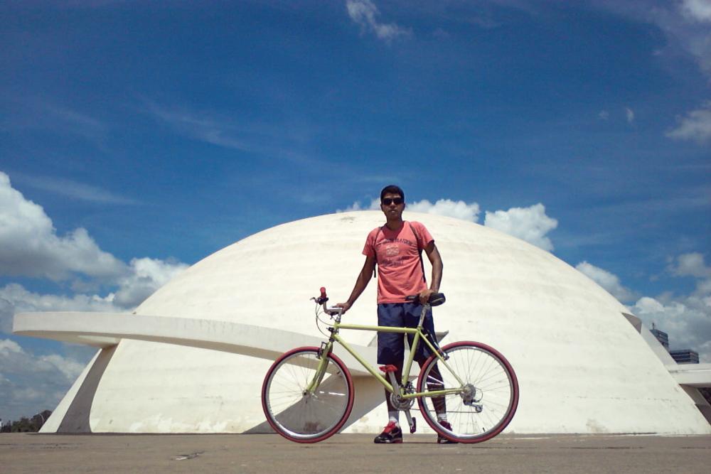 3 dias de bicicleta em Brasília