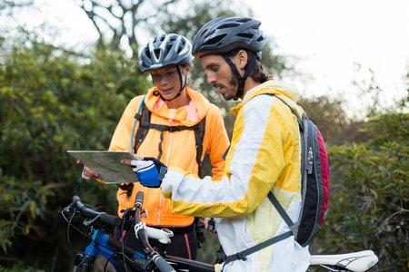 criar roteiros de cicloturismo