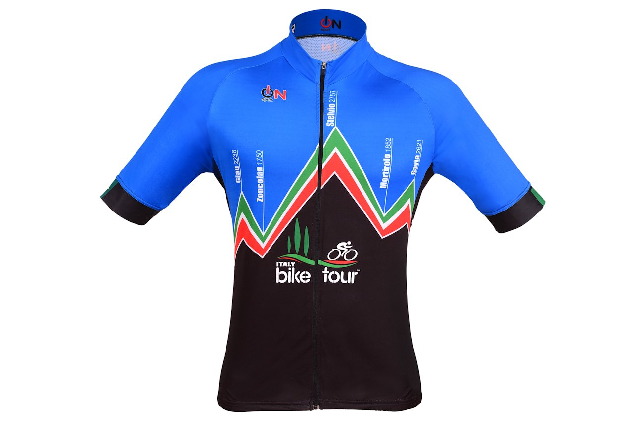 Camisa de ciclismo Italy Bike Tour Montagna - frente