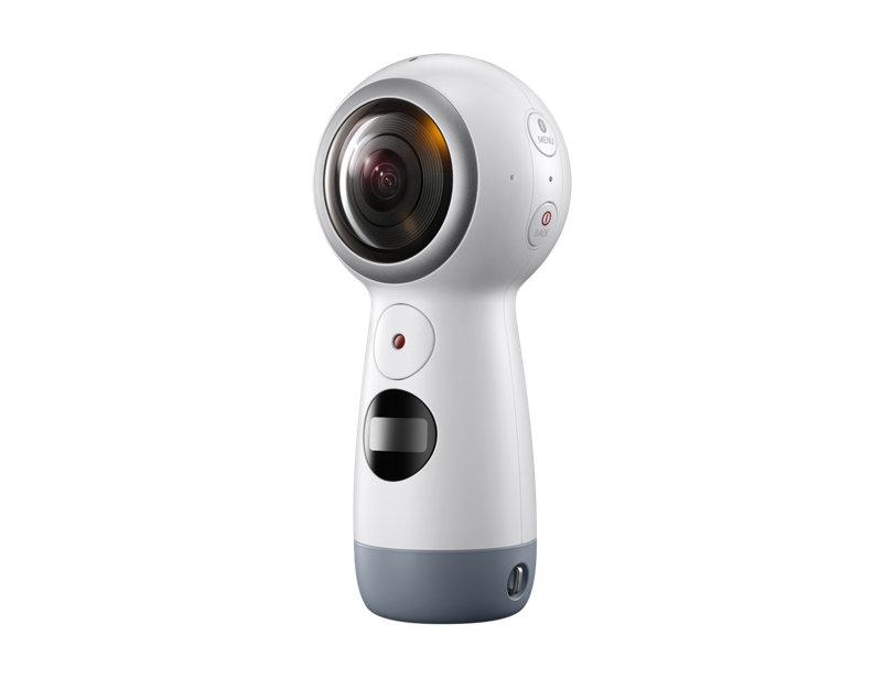 câmeras de ação Samsung Gear 360