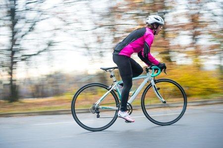 ciclista iniciante