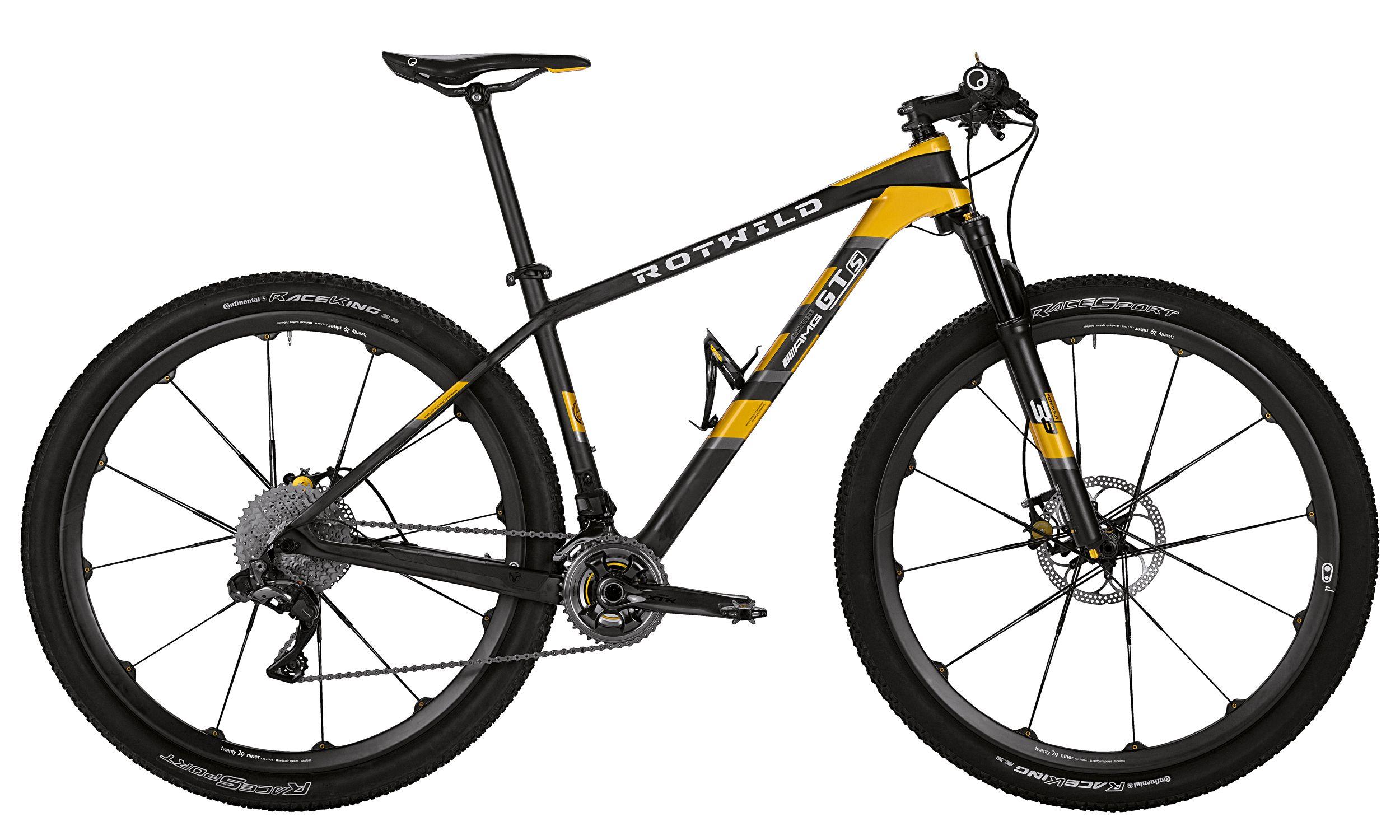 mountain bike de alto desempenho - Rotwild GTS