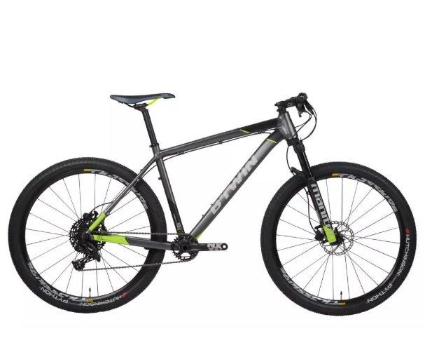 mountain bike intermediaria btwin rock rider 900