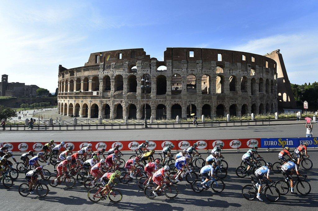 grandes voltas do ciclismo de estrada - giro ditalia