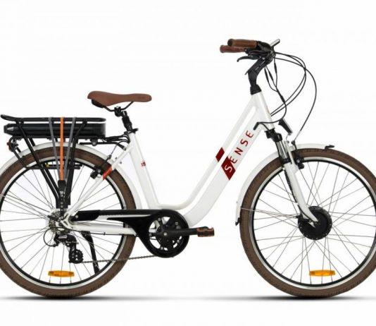 bicicleta eletrica urbana Sense Breeze